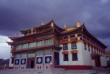 Free Lama Temple Stock Photography - 5260462