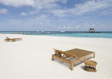 Free Maldives Seascape Stock Images - 5260604