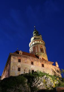 Free Cesky Krumlov Castle Stock Photo - 5260620