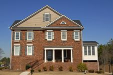 Free New Townhouse Royalty Free Stock Photo - 5261825
