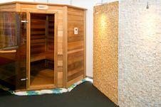 Free Sauna Cabin Royalty Free Stock Image - 5261876