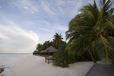 Free Maldives Seascape Stock Photos - 5262023