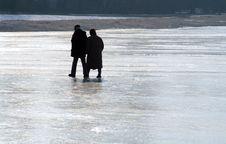 Free Walking On Ice Stock Photo - 5262270