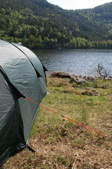 Free Campsite In Wild Free Nature Stock Photography - 5262342