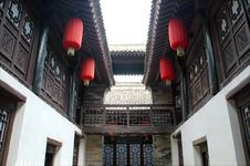 Free Chinese Courtyard Stock Image - 5262941