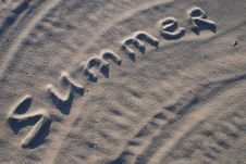 Free Summer On The Sand Stock Photo - 5263060