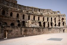 Free El-Jem S Colosseum Royalty Free Stock Images - 5263259