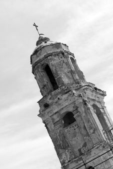 Free Bell Tower Ruins Stock Images - 5263694