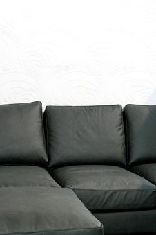 Free Soft Black Sofa Stock Photo - 5264020