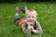 Free Happy Boy Royalty Free Stock Photo - 5264215