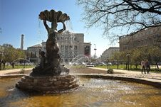 The Fountain Royalty Free Stock Photography