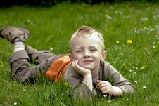 Free Happy Boy Stock Images - 5264254