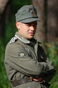 Free German Soldier Royalty Free Stock Photography - 5264287