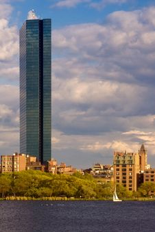 Free Hancock Tower In Boston Royalty Free Stock Photos - 5264308