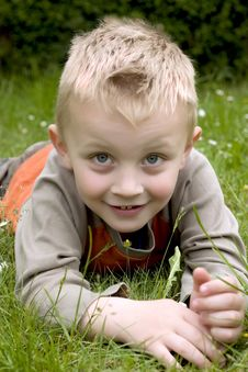 Free Happy Boy Royalty Free Stock Photos - 5264348