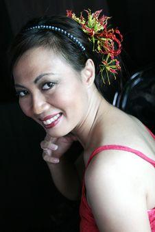 Free Thai Woman Royalty Free Stock Photos - 5264398