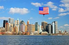 Free Lower Manhattan Skyline Stock Photos - 5264443