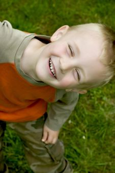 Free Happy Boy Royalty Free Stock Photography - 5264457