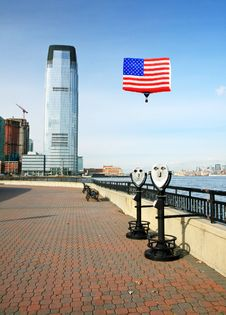 Free Lower Manhattan Skyline Stock Photography - 5264492