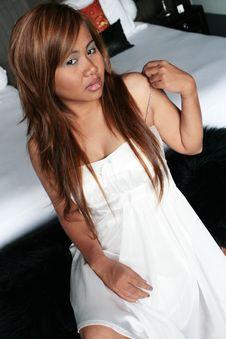 Free Thai Woman. Royalty Free Stock Photo - 5264535