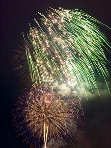 Free Fireworks Royalty Free Stock Images - 5264669