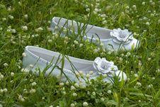 Free White Shoes Royalty Free Stock Photos - 5264688