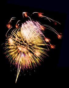 Free Fireworks Stock Image - 5264781