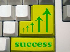 Free Success - Arrows Royalty Free Stock Image - 5264786