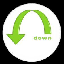 Free Turn Down Royalty Free Stock Image - 5264936