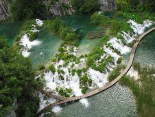 Free Waterfall In Croatia Stock Images - 5265114