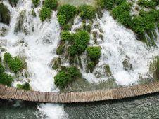 Free Waterfall In Croatia Stock Photo - 5265230