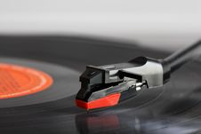 Free Record Player Royalty Free Stock Image - 5265256
