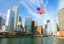 Free The High-rise Buildings In Chicago Stock Photography - 5265862