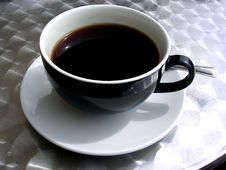 Free Coffee Cup And Saucer Royalty Free Stock Photo - 5265955