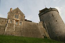 Free Windsor Castle Towers Stock Photography - 5266652