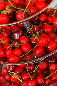 Free Fresh Cherries For A Breakfast Royalty Free Stock Photo - 5266725