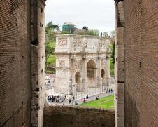 Free Constantine S Arch Royalty Free Stock Photos - 5267038