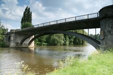 Free Bridge On River Thames Windsor Royalty Free Stock Image - 5267756