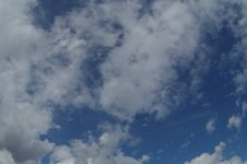Free White Clouds In The Blue Sky Royalty Free Stock Photo - 52637295