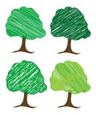 Free Vector Tree Design Stock Photography - 5273232