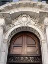 Free Corinthian Door Detail Stock Photography - 5276212