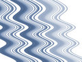 Free Wave Blue Stripes Stock Image - 5277581