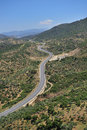 Free Curled Road On The Mountain Royalty Free Stock Photos - 5278338