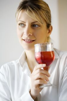 Free Drinking Wine Royalty Free Stock Photo - 5270045