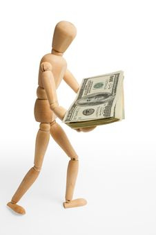 Free Figure,dollars,two Stock Photo - 5270220