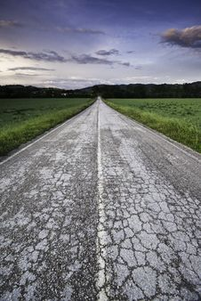 Free Countryside Road Stock Images - 5270294