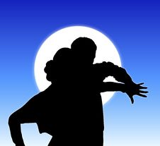 Free Moonlight Dance 4 Stock Images - 5270484
