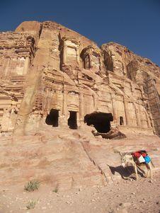 Free Petra, Jordan Royalty Free Stock Image - 5271266