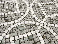 Paved Square Royalty Free Stock Photo