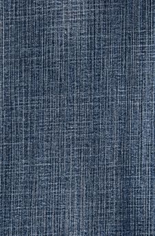 Free Blue Denim Fabric Background Royalty Free Stock Images - 5271859